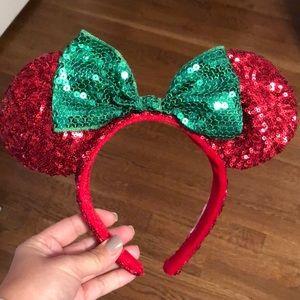 Disney Christmas Minnie Ears